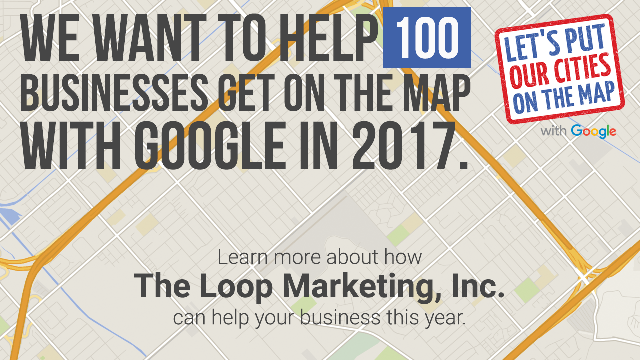 The Loop Marketing Inc is an official Get Your Business Online Google Partner