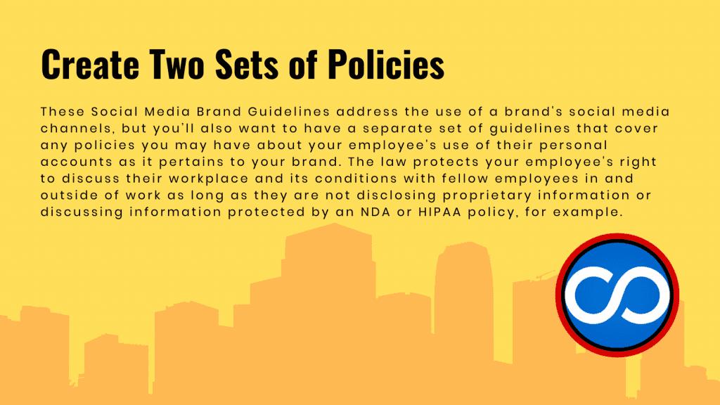 TLM Blog Policies for Social Media