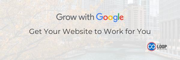 Grow with Google website