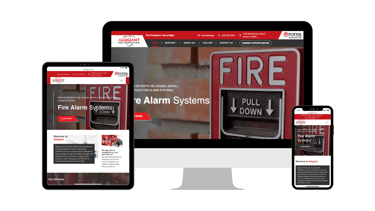 Chicago Area Fire Protection Company Heats Up with Content Marketing and Local SEO